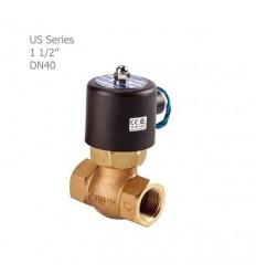 """شیر برقی بخار یونیدی (UNID) سری US سایز """"1/2 1"""