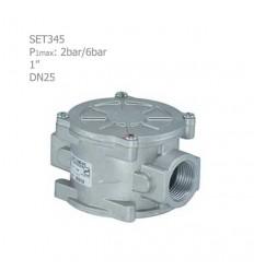 """فیلتر گازی ستاک دنده ای """"1 مدل SET345"""