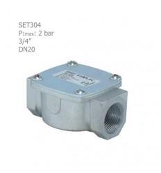 """فیلتر گازی ستاک دنده ای""""3/4 مدل SET304"""