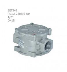 """فیلتر گازی ستاک دنده ای """"1/2 مدل SET345"""