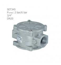 """فیلتر گازی ستاک دنده ای """"3/4 مدل SET345"""