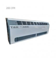 فن کویل زمینی مورب زن تک سارال مدل 200 CFM