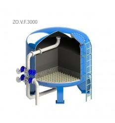فیلتر شنی زلال ایران مدل ZO.V.F.3000