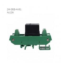 رله برد تک کنتاکت 12A رایان مدل 24SRB-4-R1
