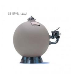 فیلتر شنی تصفیه آب استخر هایوارد مدل S244T