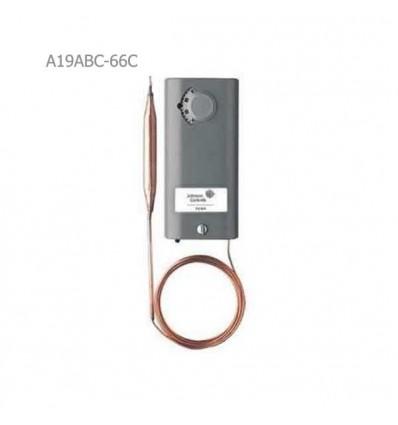 ترموستات جانسون کنترل تک مرحلهای A19ABC-66C