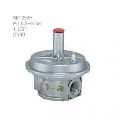 """رگلاتور گازی ستاک دنده ای """"1/2 1 مدل SET252H"""
