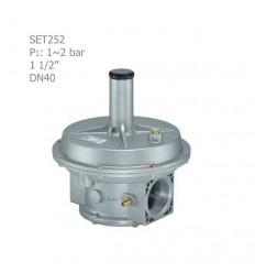 """رگلاتور گازی ستاک دنده ای """"1/2 1 مدل SET252"""