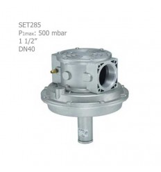 """رگلاتور کنترل نسبت هوا و گاز ستاک دنده ای """"1/2 1 مدل SET285"""