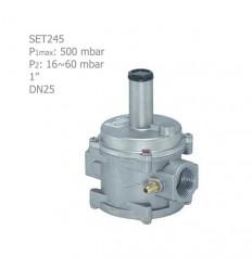 """رگلاتور گازی ستاک دنده ای""""1 مدل SET245"""