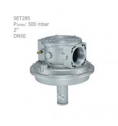 """رگلاتور کنترل نسبت هوا و گاز ستاک دنده ای """"2 مدل SET285"""