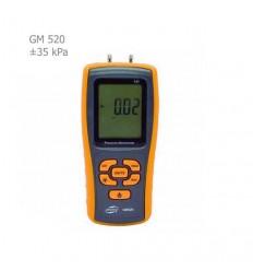 فشارسنج تفاضلی دیجیتال بنتک مدل GM520
