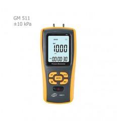 فشارسنج تفاضلی دیجیتال بنتک مدل GM511