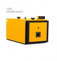 دیگ فولادی آبگرم آذران صنعت امرتات (کالور) c200