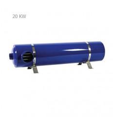 مبدل حرارتی پوسته و لوله آکوامارین مدل PHE20