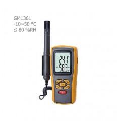 رطوبت سنج و دماسنج بنتک مدل GM1361