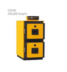 دیگ فولادی آبگرم آذران صنعت امرتات (کالوردوال) CD240