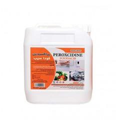 محلول ضدعفوني كننده صنايع غذايي فوداسیب (پراستیک اسید 15%)