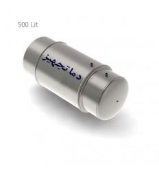 منبع دوجداره افقی 500 لیتری دماتجهیز