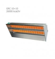 هیتر تابشی سرامیکی صنعتی گرماسان GRC 10+10