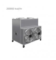 کوره هوای گرم گازی انرژی مدل 2060