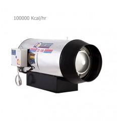 جت هیتر گازی دوموتوره  نیرو تهویه البرز 2G-100