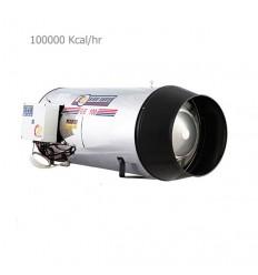 جت هیتر گازی نیرو تهویه البرز مدل GE-100