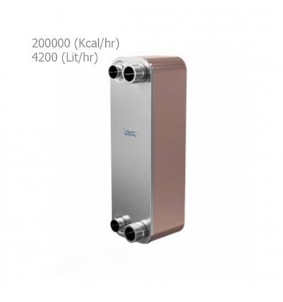 مبدل حرارتی صفحه ای آلفالاوال مدل CB60-40L