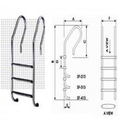 نردبان و پله استخر اسپاگلد (جازی)