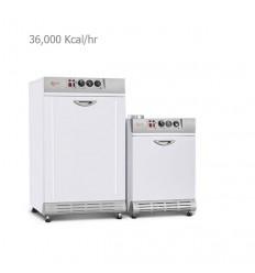 پکيج زميني شوفاژکار کوتاه مدل P5 با مبدل حرارتی