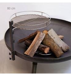 آتشدان هیزمی 80 سانتی تابان
