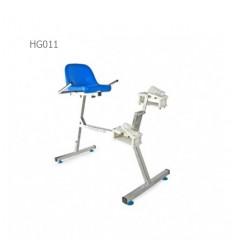 دوچرخه نشسته آبی هیدروجیم مدل HG011