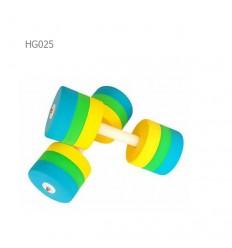 دمبل آبی گرد هیدروجیم مدل HG025