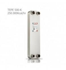 مبدل حرارتی صفحه ای کائوری سری K مدل TEP-500