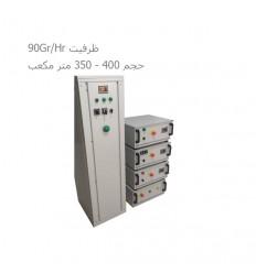 ژنراتور ازن آتیه پرداز با ظرفیت 90Gr/Hr