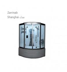 سونا بخار آپارتمانی زرین آب مدل شانگهای