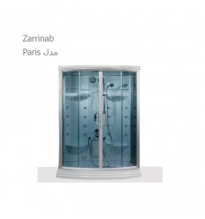 سونا بخار آپارتمانی زرین آب مدل پاریس