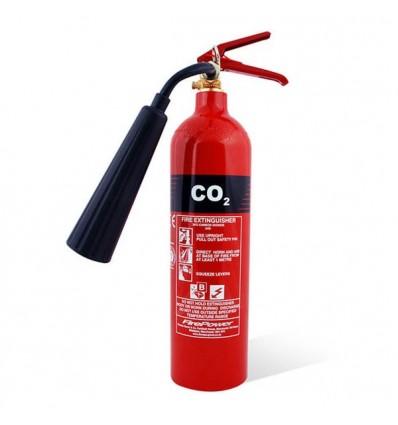 کپسول آتش نشانی co2 آذرسیلندر- 4Kg