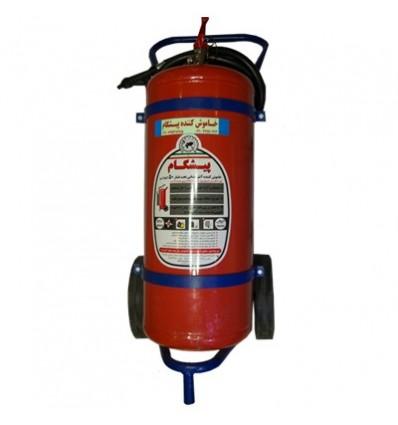 کپسول آتشنشانی پودر و گاز پیشگام- 12kg