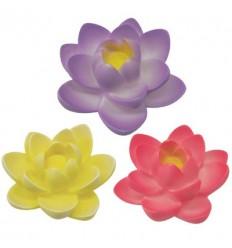 ست دوتایی چراغ LED شناور طرح گل رنگ متغیر