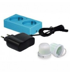 شارژر لامپ به همراه 2 عدد چراغ led قابل شارژ kokido