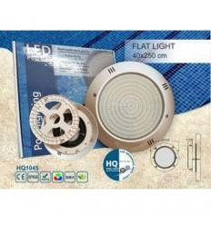 چراغ LED روکار با قاب پلاستیکی HQPOOL مدل Flat-HQ1045