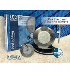 چراغ LED روکار با قاب پلاستیکی HQPOOL مدل Ultra Flat-HQ1090