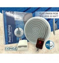 چراغ LED توکار شیشه ای تخت مدل Flat light-HQ1000