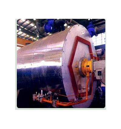 دیگ فولادی آب گرم سوپراکتیو سه پاس درای بک با فشار کار 8 بار