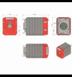 دیگ چدنی شوفاژکار مدل سوپر 13-400