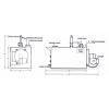 دیگ آب گرم حرارت گستر فولادی سه پاس وت بک با فشار کار مختلف
