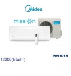 کولر گازی اینورتر میدیا مدل Mission-12H1i-K