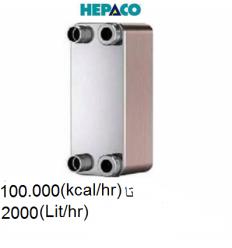 مبدل حرارتی صفحه ای هپاکو مدل HP-200