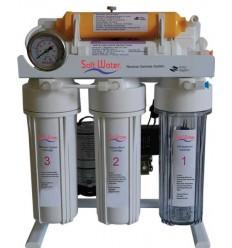 دستگاه تصفیه آب پایه دار سافت واتر